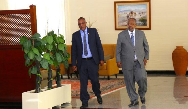 Muuse Biixi ,Somaliland-president-Upon-Arrival-in-Djibouti